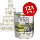 Økonomipakke: 12 x 800 g Wolf of Wilderness Senior