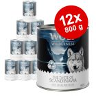 "Økonomipakke: 12 x 800 g Wolf of Wilderness ""The Taste Of"""