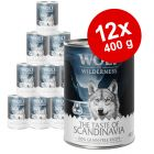 "Økonomipakke: 12 x 400 g Wolf of Wilderness ""The Taste Of"""