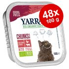 Økonomipakke: 48 x 100 g Yarrah Øko