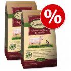 Økonomipakke: 2 x 10/15 kg Lukullus kaldpresset hundefôr