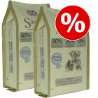 Økonomipakke: 2 x 12 kg Simpsons Premium hundefoder