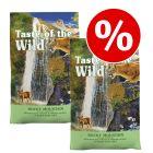 Økonomipakke: 2 x 6,6 kg Taste of the Wild