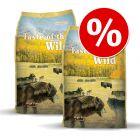 Økonomipakke: 2 x 12,2  kg Taste of the Wild