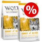 Økonomipakke: 2 x 12 kg Wolf of Wilderness Tørrfôr