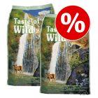 Økonomipakke: 2 x 2 kg / 2 x 6,6 kg Taste of the Wild