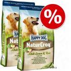 Økonomipakke: 2 x storsekker  Happy Dog Natur