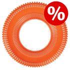 10% korting! Chuckit! Rugged Flyer oranje