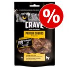 15% korting! Crave Protein Chunks Honden Snacks