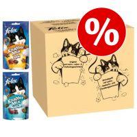 30% korting! Felix Kattensnacks Party Mix Party original & oceaan