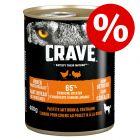 15% korting! 300 g Crave Adult natvoer