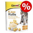 20% korting! 140 g GimCat Kaas-Rollis