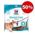 50% korting! 170 g Hill's Dental Care Hondensnacks