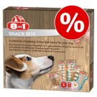 20% korting! 8in1 snackbox