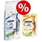 20% korting! 15 kg Cat Chow Droogvoer + 26 x 85 g Cat Chow Natvoer