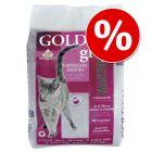 25% korting! 14 kg Golden Grey Master Kattenbakvulling