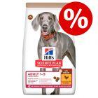 10% korting! 14 kg Hill's Science Plan Hondenvoer