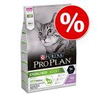 15% korting! 3 kg Pro Plan Droogvoer