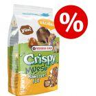 10% korting! 2,75 kg Versele-Laga Crispy Muesli Hamsters & Co