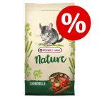 10% korting! 9 kg Versele-Laga Nature Chinchilla voer