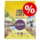 30% korting! 10 L Purina Tidy Cats Nature Classic