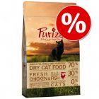 € 10,- korting op 6,5 kg Purizon kattenvoer