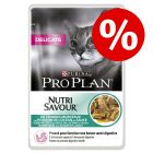 20% korting! Pro Plan Voordeelpakket Nutrisavour 10 x 85 g