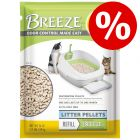 30% korting! Tidy Cats Breeze kattenbaksysteem + pellets + kattenbakvulling