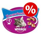 20% korting! Whiskas snacks