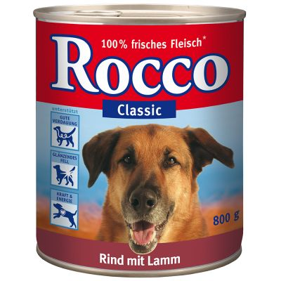 € 5,- korting! 24 x 800 g Rocco Classic