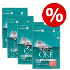 15% korting! 4 x 3 kg Purina ONE Droogvoer