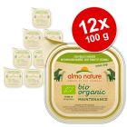 Korzystny pakiet Almo Nature BioOrganic Maintenance, 12 x 100 g