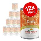 Korzystny pakiet Almo Nature Daily Menu, 12 x 400 g