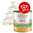 Korzystny pakiet Almo Nature HFC, 12 x 280 g