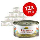 Korzystny pakiet Almo Nature, ryba, 12 x 70 g