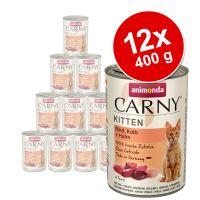 Korzystny pakiet Animonda Carny Kitten, 12 x 400 g