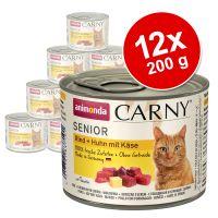Korzystny pakiet Animonda Carny Senior, 12 x 200 g
