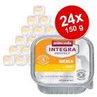 Korzystny pakiet Animonda Integra Protect, tacki, 24 x 150 g