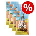 Korzystny pakiet Barkoo Mini Bones półwilgotne, 4 x 200 g