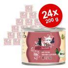 Korzystny pakiet catz finefood bio, 24 x 200 g