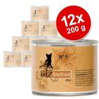 Korzystny pakiet catz finefood, 12 x 200 g