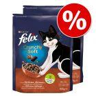 Korzystny pakiet Felix Crunchy & Soft, 2 x 950 g