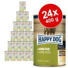 Korzystny pakiet Happy Dog Pure,  24 x 400 g