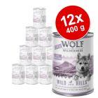 Korzystny pakiet Little Wolf of Wilderness Junior, 12 x 400 g