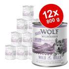 Korzystny pakiet Little Wolf of Wilderness Junior, 12 x 800 g