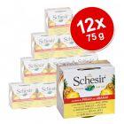 Korzystny pakiet Schesir Fruit, 12 x 75 g