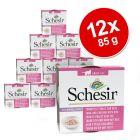Korzystny pakiet Schesir Natural z ryżem, 12 x 85 g