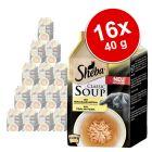 Korzystny pakiet Sheba Classic Soup, 16 x 40 g