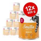 Korzystny pakiet Smilla Puszki z drobiem, 12 x 800 g