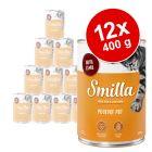 Korzystny pakiet Smilla Puszki z drobiem, 12 x 400 g